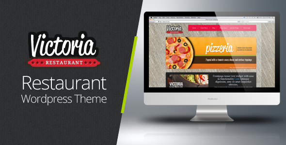 ThemeForest Victoria Premium Restaurant Wordpress Theme 1058727