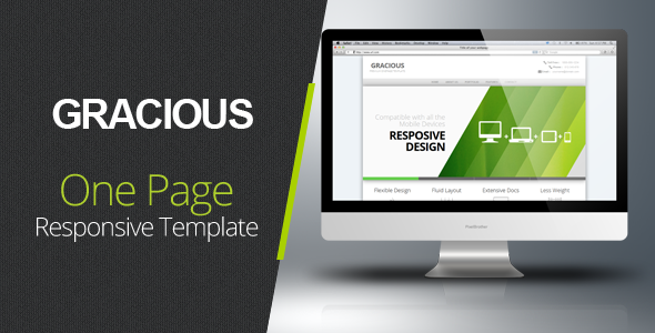 ThemeForest Gracious Ajaxified HTML Template 2929296