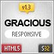Gracious - Ajaxified HTML Template - ThemeForest Item for Sale