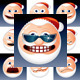 Santa Claus Icons - GraphicRiver Item for Sale