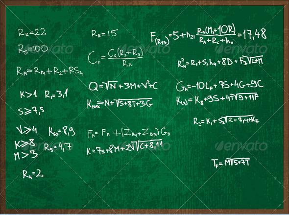 GraphicRiver Blackboard 3274843