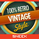 8 Retro Vintage badges #2 - GraphicRiver Item for Sale