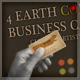 4 Earth Color Business Card  Clean &amp;amp; Artistic - GraphicRiver Item for Sale