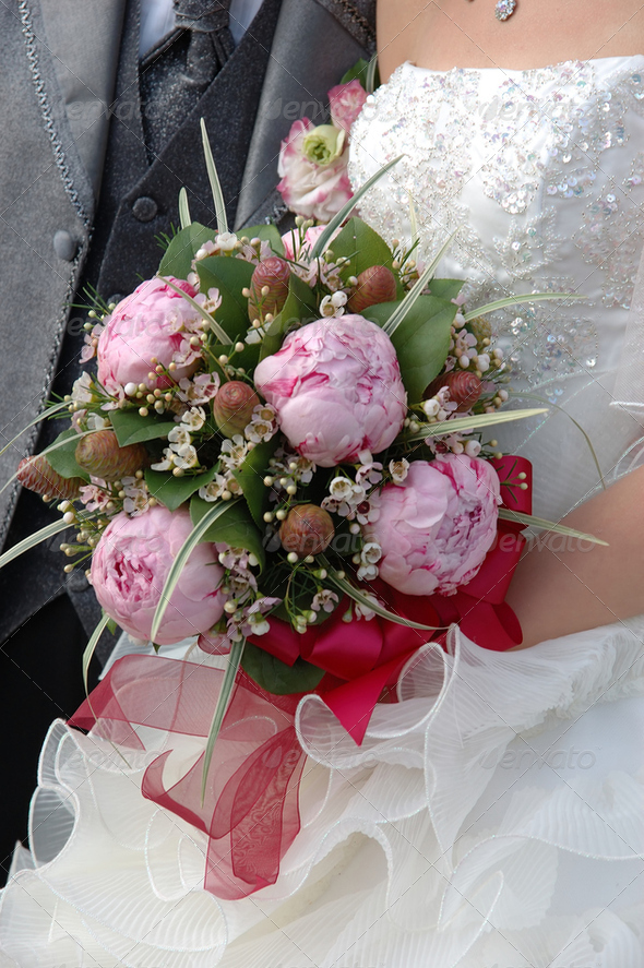 Wedding bouquet - Stock Photo - Images