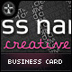 Creative Business Card - Intelligent Typo - GraphicRiver Item for Sale
