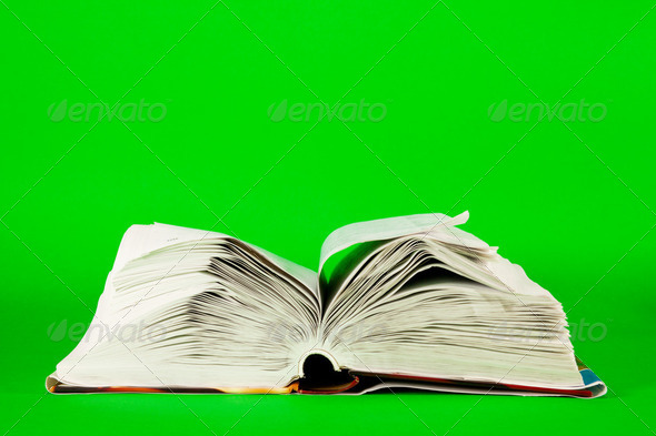 Open books - Stock Photo - Images