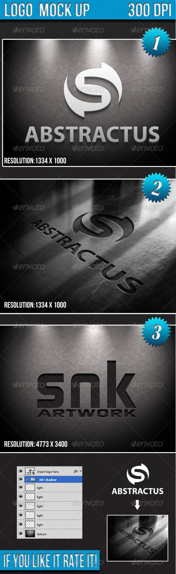 GraphicRiver Logo Mock-up 3211751