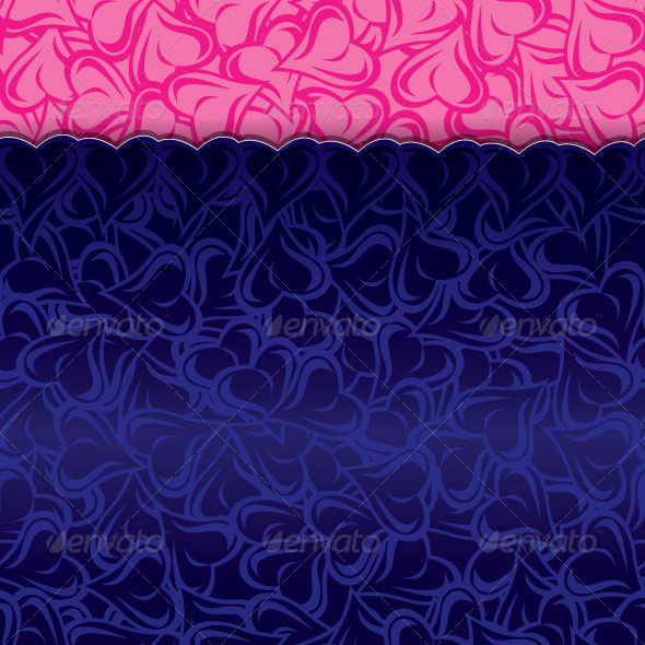 GraphicRiver Blue Paper Pink Paper Seamless 3277869