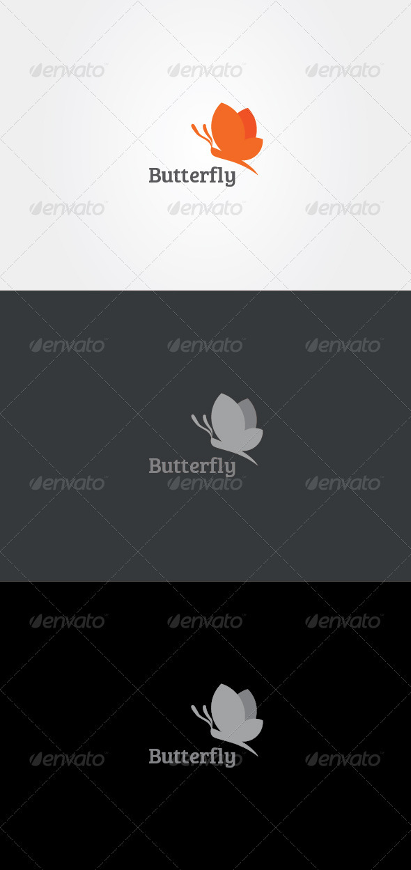 GraphicRiver Butterfly Logo 3266009