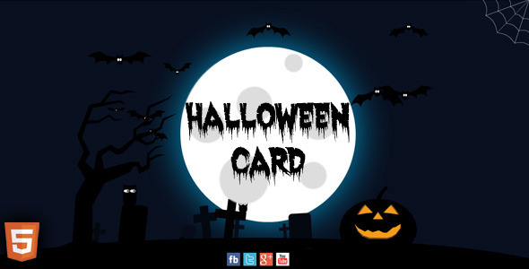 CodeCanyon Halloween Card 3278791