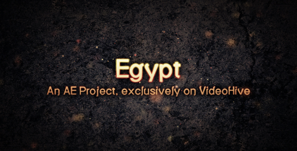 After Effects Project - VideoHive Egypt 115671