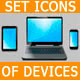 Set Icons of devices - GraphicRiver Item for Sale