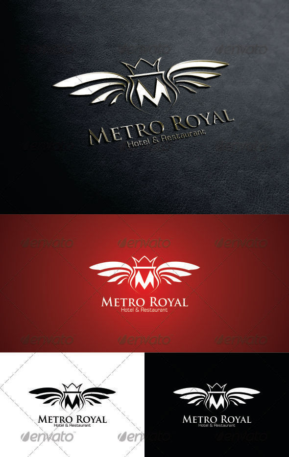 GraphicRiver Metro Royal Logo 3281287