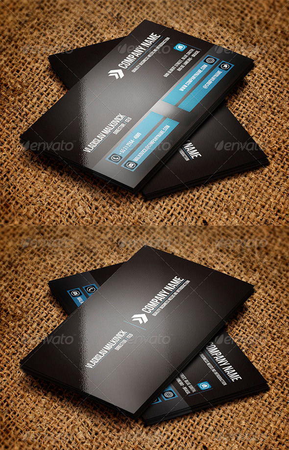 GraphicRiver Corporate Business Card 5 3282953