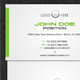 Modern Stylish Business Card - GraphicRiver Item for Sale