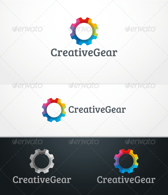 GraphicRiver CreativeGear Logo Template 3283975