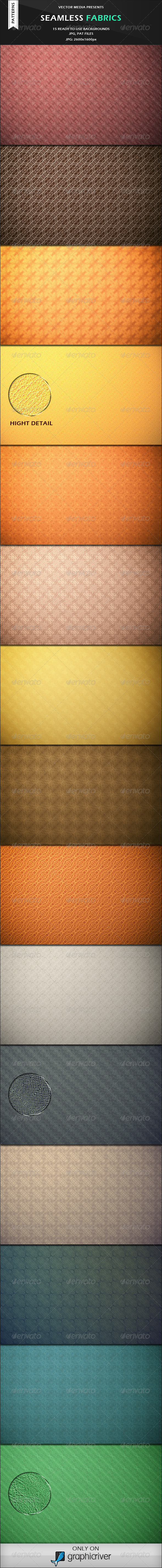 GraphicRiver Seamless Fabrics Photoshop Patterns 3271252