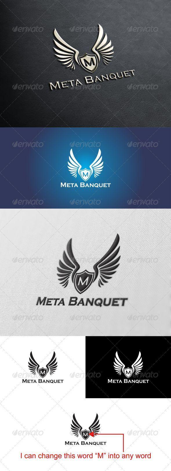 GraphicRiver Meta Banquet Logo 3285172