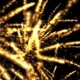 Fireworks Golden Flower - VideoHive Item for Sale