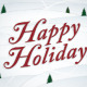 """Happy Holidays"" Seasonal Greeting Card - GraphicRiver Item for Sale"