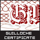 Guilloche Certificate Sample - GraphicRiver Item for Sale