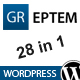GREPTEM - Business &amp;amp; Portfolio Wordpress Theme - ThemeForest Item for Sale