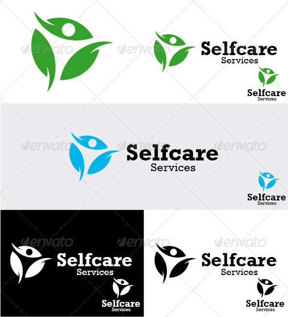 GraphicRiver Selfcare Services Logo 3285661