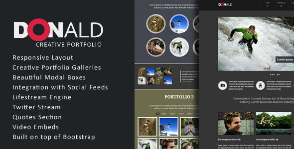 Donald - Creative Business Template
