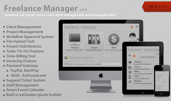 CodeCanyon - Freelance Manager v1.5