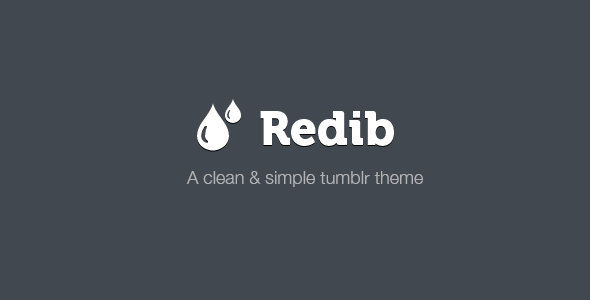 ThemeForest Redib Tumblr Template 3277456