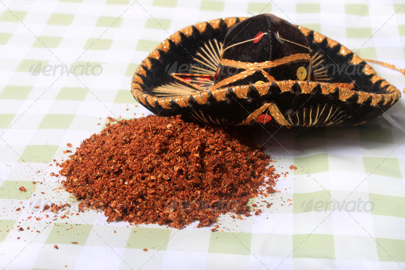 Mexican blend of spices - Stock Photo - Images
