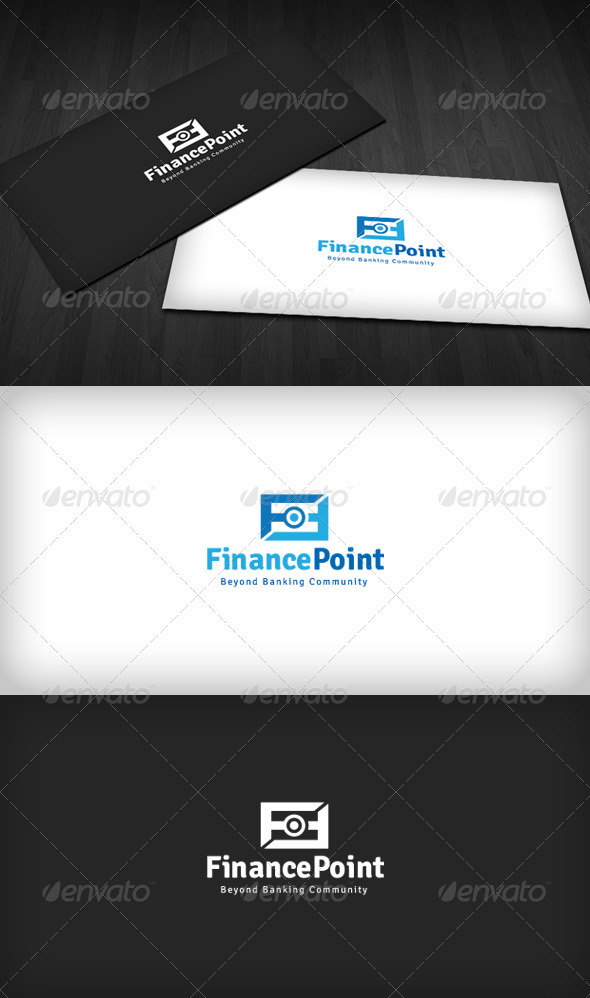 GraphicRiver Finance Point Logo 3286272