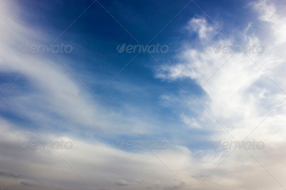 Misty Clouds - Stock Photo - Images