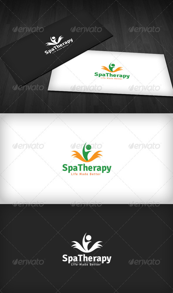 GraphicRiver Spa Therapy Logo 3286286