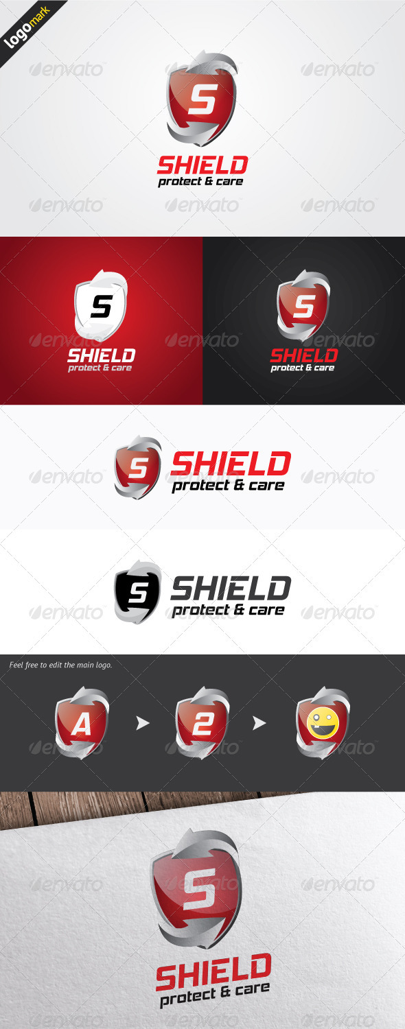 GraphicRiver Shield Logo 3286469