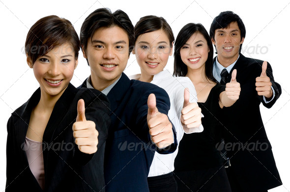 Successful Business Team - Stock Photo - Images