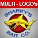 Shark Logo - Multi Logo Pack! - GraphicRiver Item for Sale