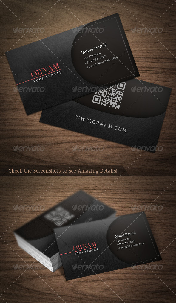 GraphicRiver Ornam Business Card 3266134