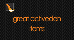 Great Activeden Items