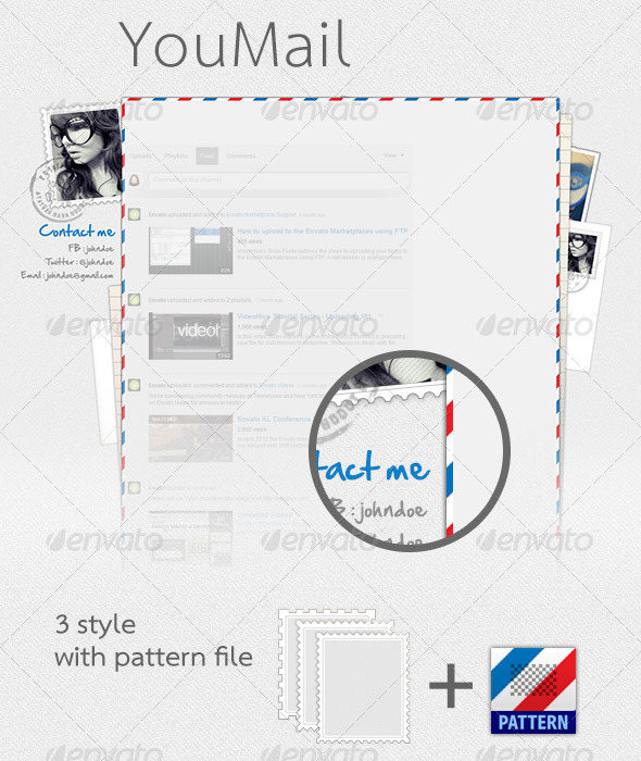 GraphicRiver YouTube YouMail 3288104