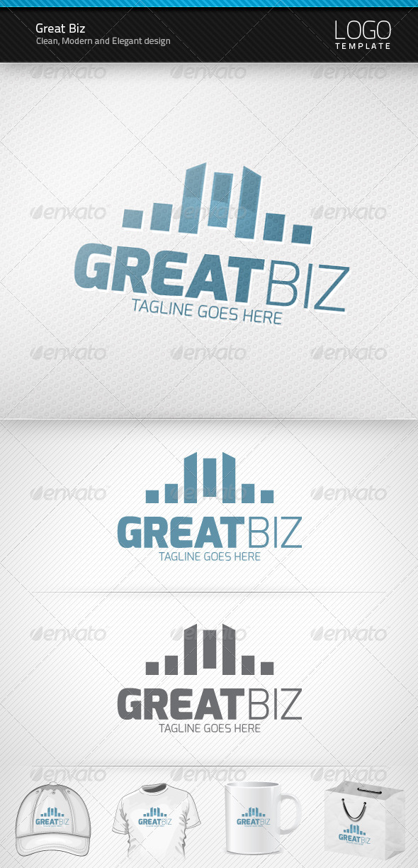 Great Biz Logo - Symbols Logo Templates