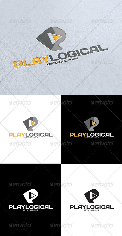 GraphicRiver Play Logical Logo 3288947