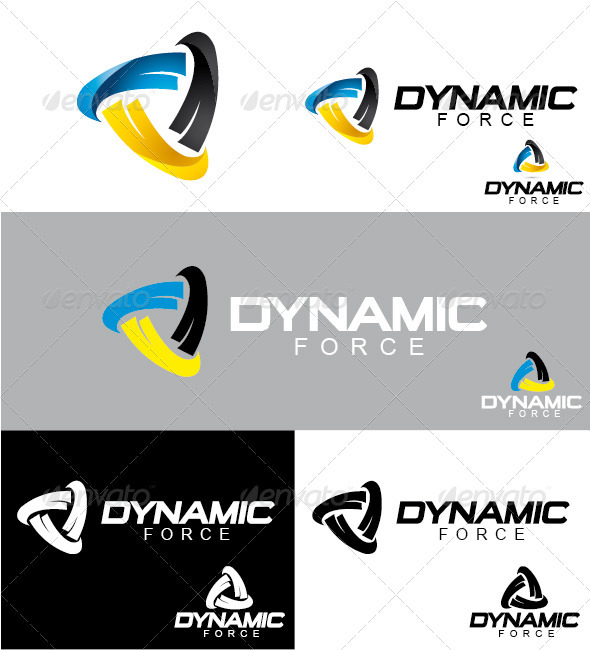 GraphicRiver Dynamic Force Logo 3289936