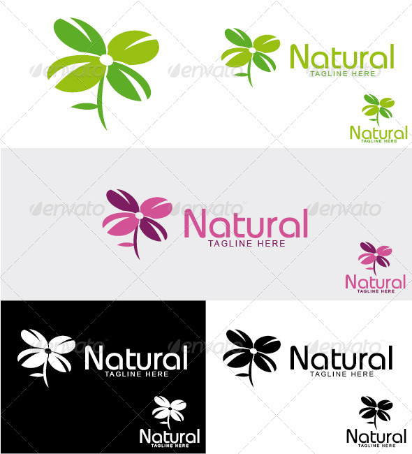 GraphicRiver Natural Logo 3290092