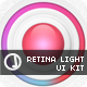 Retina Light UI - GraphicRiver Item for Sale