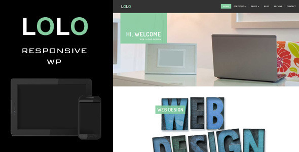 LOLO WP - Creative WordPress