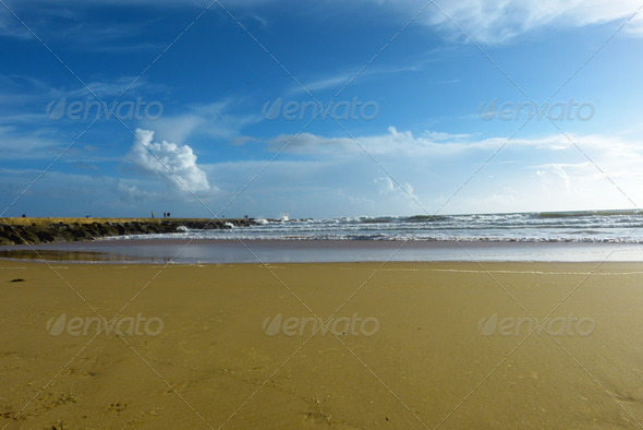 Beach Landscape  - Stock Photo - Images