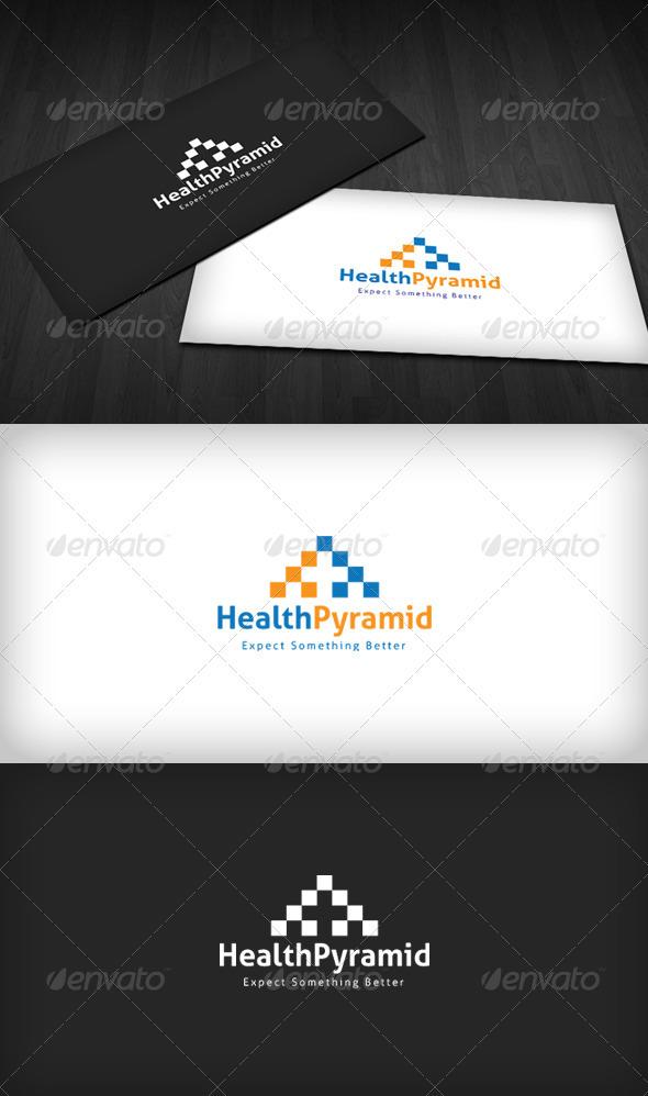 GraphicRiver Health Pyramid Logo 3290458