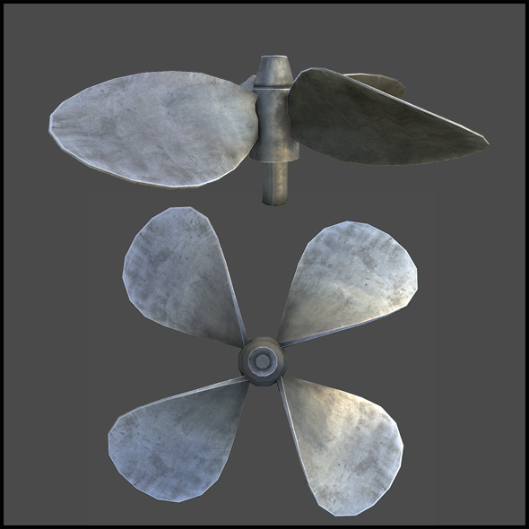3DOcean Ship Propeller 3291074
