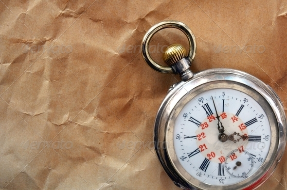 old pocket watch - Stock Photo - Images